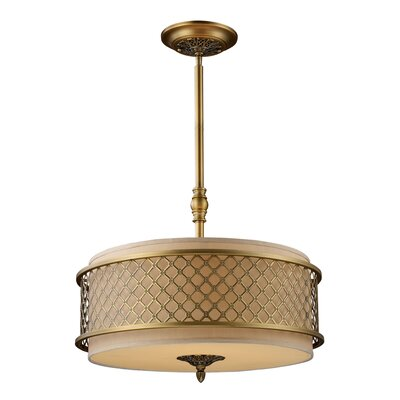 Walsh 4-Light Drum Pendant