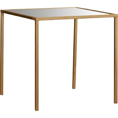 Mikayla End Table Color: Gold