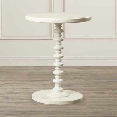 Adames End Table Finish: White