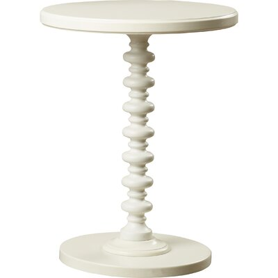 Adames End Table Color: White