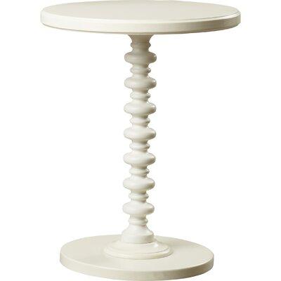 Adames End Table Color: White