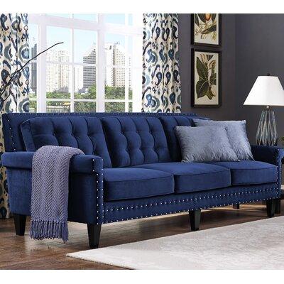 Bethel Sofa Upholstery: Navy