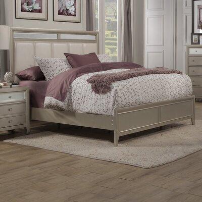 McKellen Upholstered Panel Bed Size: California King