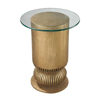 Zaylee Modern Round End Table