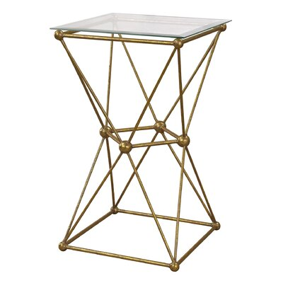 Shauna Geometry Molecular End Table