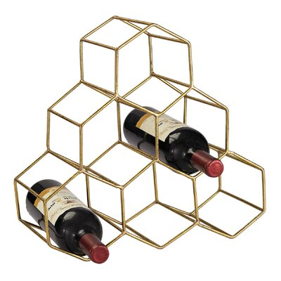 Stetson 6 Bottle Tabletop Wine Rack