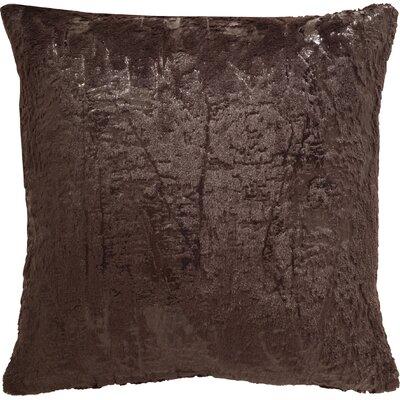 Fleischman Throw Pillow Size: 20, Color: Dark Truffle
