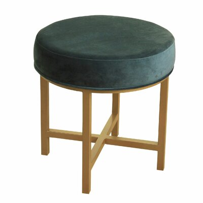 Brookhaven Round Ottoman Upholstery Color: Jasper