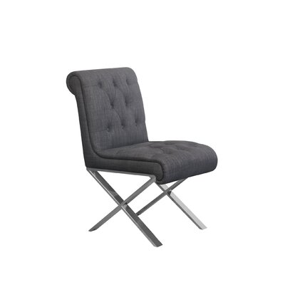 Winchester Side Chair Upholstery: Gray