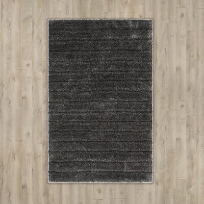 Wyler Hand-Tufted Silver Area Rug Rug Size: 9 x 12