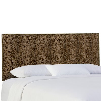 Gia Upholstered Panel Headboard Size: King
