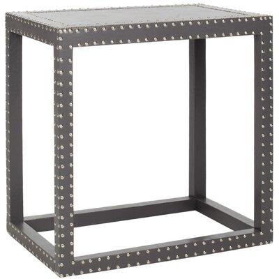 Nicollette End Table Color: Grey
