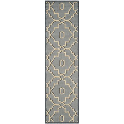Kuna Light Blue/Ivory Indoor/Outdoor Area Rug Rug Size: Runner 23 x 8