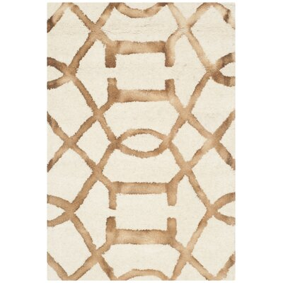 Owen Ivory/Camel Area Rug Rug Size: Rectangle 2 x 3