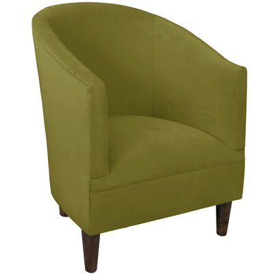 Diana Barrel Chair Upholstery: Velvet Apple Green
