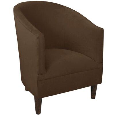 Diana Barrel Chair Upholstery: Velvet Chocolate