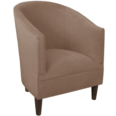 Diana Barrel Chair Upholstery: Velvet Cocoa
