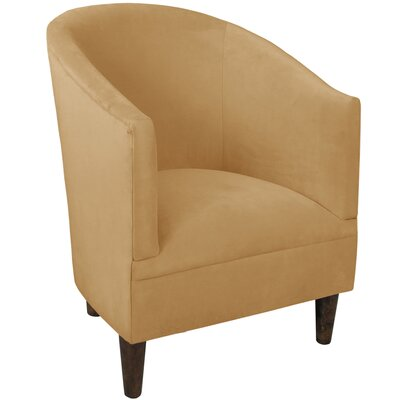 Diana Barrel Chair Upholstery: Velvet Honey
