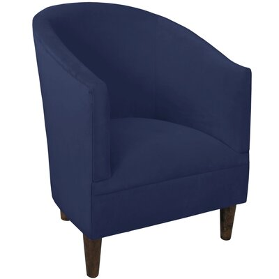 Diana Barrel Chair Upholstery: Velvet Royal/Navy