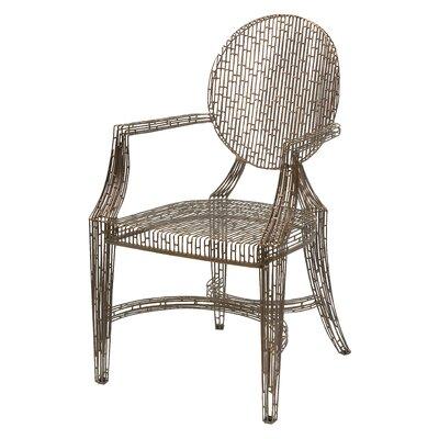 Gerhardina Handcrafted Metal Armchair