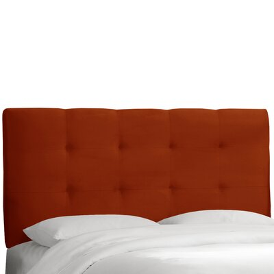 Evonne Upholstered Panel Headboard Size: Queen, Upholstery: Mystere Hacienda