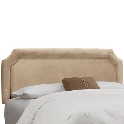Amber Upholstered Panel Headboard Upholstery: Premier Oatmeal, Size: California King