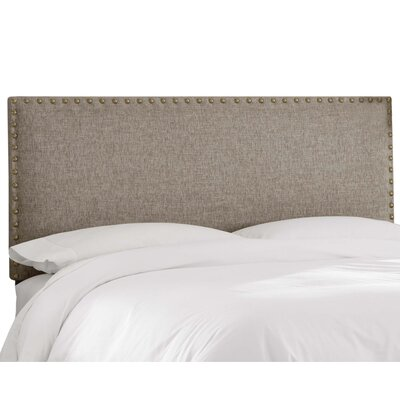 Chipley Upholstered Panel Headboard Size: King