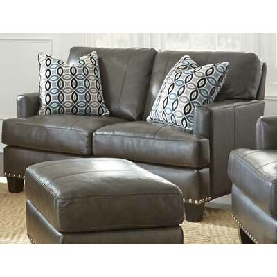 Mesilla Leather Loveseat