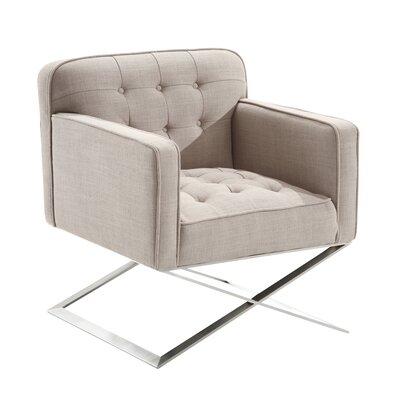 Borman Lounge Chair in Gray