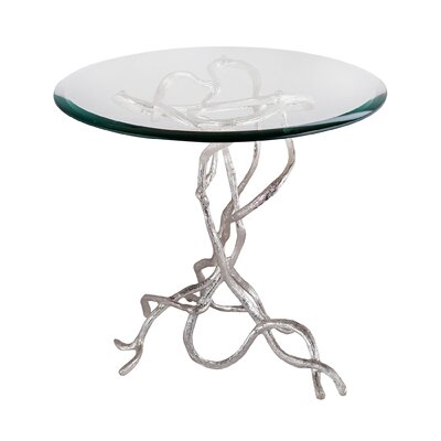 Magdalena Woven Vines End Table