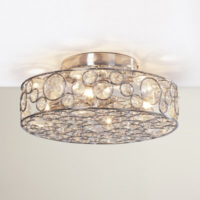 Hatfield 4-Light Semi-Flush Mount