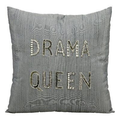 Emmaline Drama Queen Throw Pillow