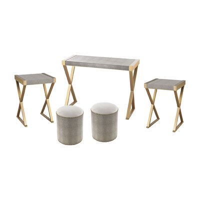Sanford 5 Piece Coffee Table Set