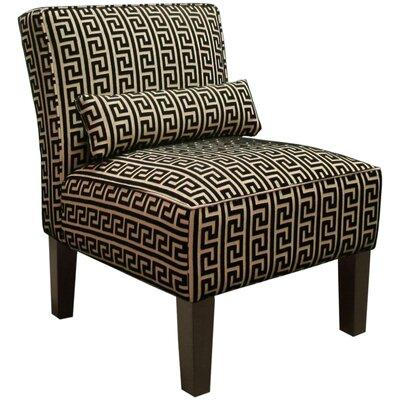 Thurston Slipper Chair Upholstery: Akis Noir