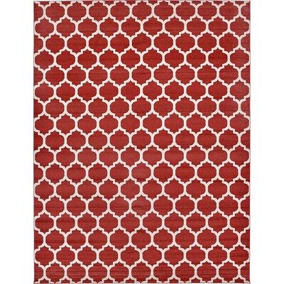 Bullange Rust Area Rug Rug Size: 122 x 16