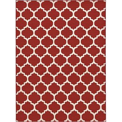 Bullange Rust Area Rug Rug Size: 8 x 11