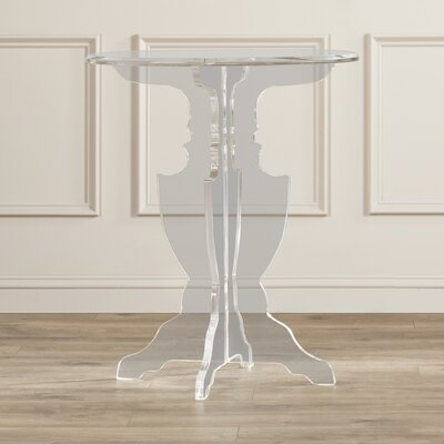 Genevra Acrylic End Table