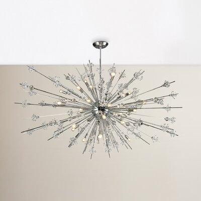Spielberg 31-Light Sputnik Chandelier