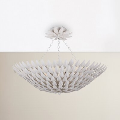 Rochelle 6-Light Semi Flush Mount