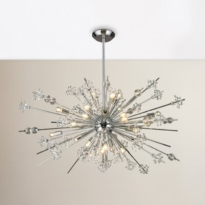 Spielberg 29-Light Sputnik Chandelier