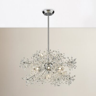Crawford 11-Light Crystal Chandelier