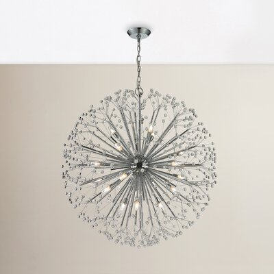 Spielberg 19-Light Sputnik Chandelier