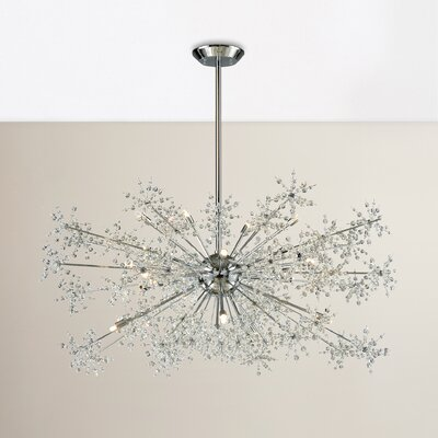 Crawford 20-Light Crystal Chandelier