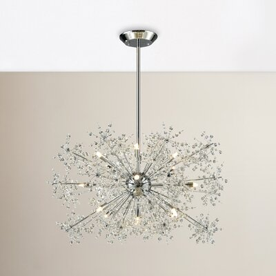 Crawford 15-Light Crystal Chandelier