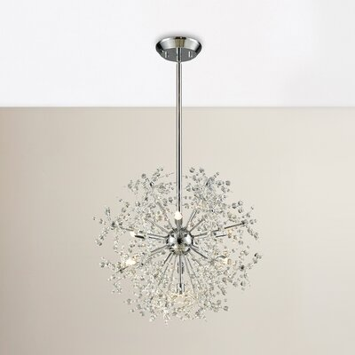 Crawford 7-Light Globe Pendant