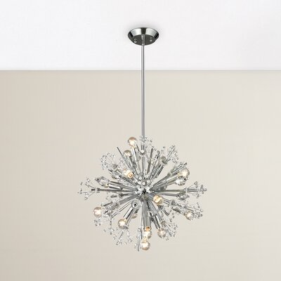 Spielberg 15-Light Sputnik Chandelier