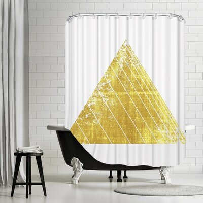 De Luca Triangle Shower Curtain