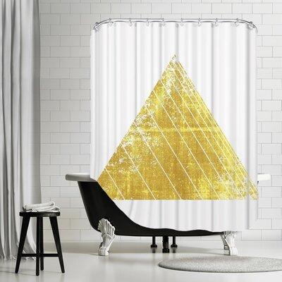De Luca Triangle Shower Curtain