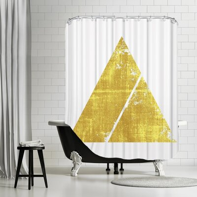 De Luca Triangle 1 Shower Curtain