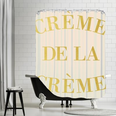 Streep Cr�me De la Cr�me Shower Curtain